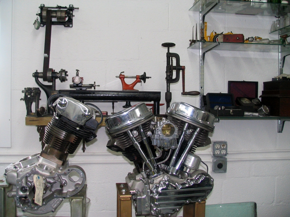 motorcycle machine shops